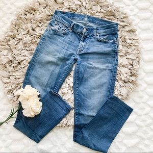 7 for All Mankind Roxanne Skinny in Cadette